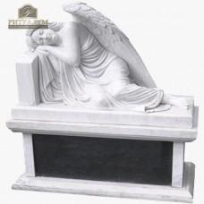 Скульптура ангела из мрамора №117 — ritualum.ru