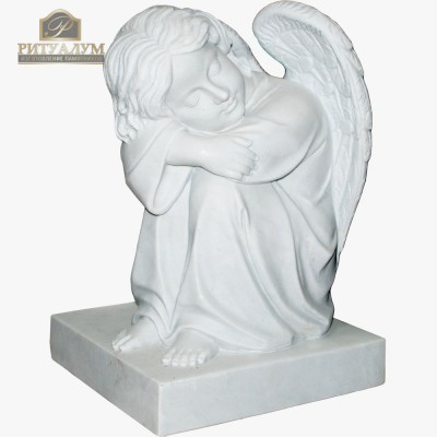 Скульптура ангела из мрамора №99