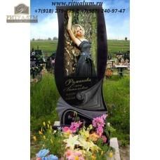 Памятник с фотокерамикой №1 — ritualum.ru