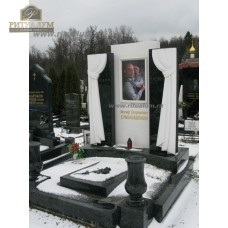 Памятник с фотокерамикой №8 — ritualum.ru
