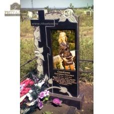 Памятник с фотокерамикой №11 — ritualum.ru