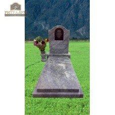 Памятник из мрамора - Овал - плечи   PM0032