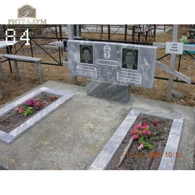 Памятник из мрамора 84 — ritualum.ru
