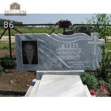 Памятник из мрамора 86