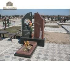 Памятник комбинированный 02 — ritualum.ru