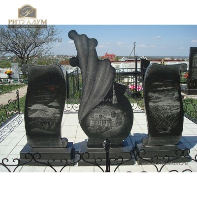 Зеркальный памятник 310 — ritualum.ru