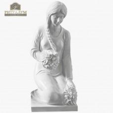 Скульптура ангела из мрамора №111 — ritualum.ru