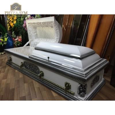 Гроб Элитный Канадец белый