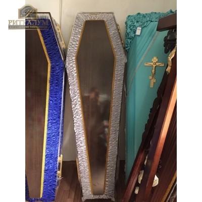 Гроб Комбинированный обитый тканью ( разные цвета)