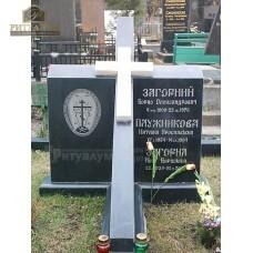 Креативный памятник 20 Крест — ritualum.ru