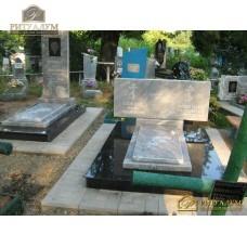 Памятник из мрамора горизонтальный 88 — ritualum.ru