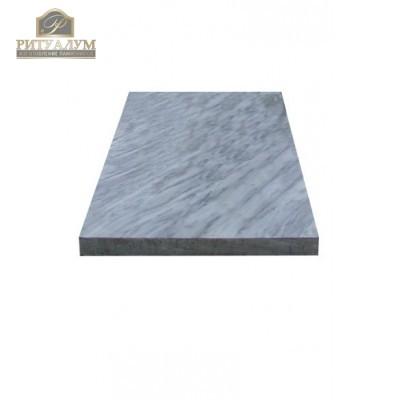 Надгробная плита из мрамора — ritualum.ru